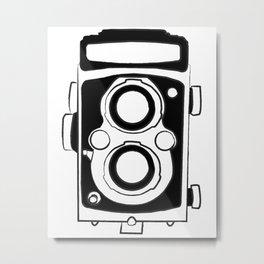 Twin Lens Reflex Metal Print