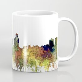 Fort Worth, Texas Skyline SG - Safari Buff Coffee Mug