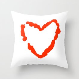 What Becomes of the Broken Hearted? Throw Pillow