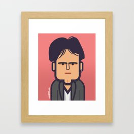 Robert Smith (The Cure) 1979 Framed Art Print