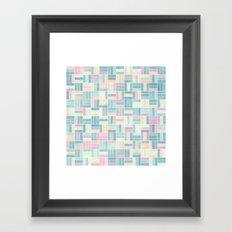 Summer Pastels 1 Framed Art Print