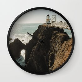 Lighthouse Coast Wall Clock