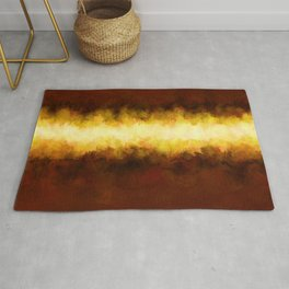 Liquid Gold Sunbeam with Burnished Bronze Rug