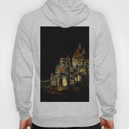 Paris Basilica Sacre Coeur at Night Hoody