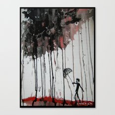 Braindrops Canvas Print