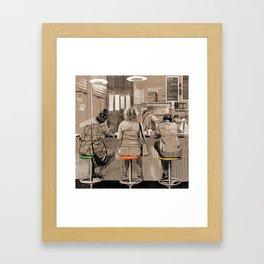 Daily life Framed Art Print
