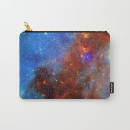 Red & Blue Nebula Carry-All Pouch
