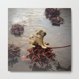 The Koalas & The Floating Pods Metal Print