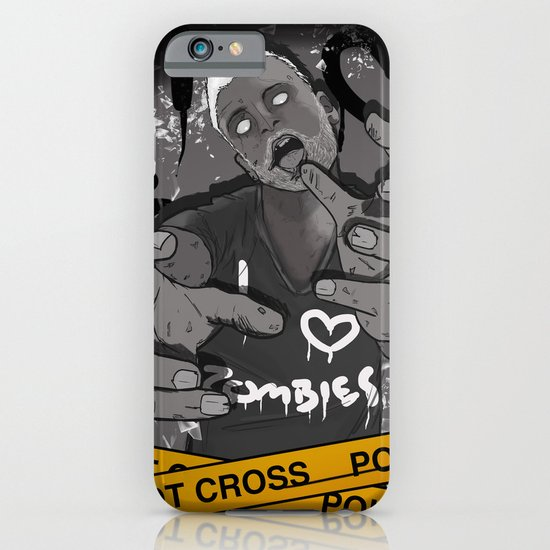 I Heart Zombies iPhone & iPod Case