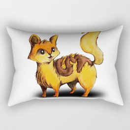 Animalphabet C | Cat Rectangular Pillow