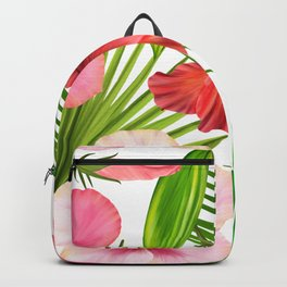 Simple Floral Patterns Backpack