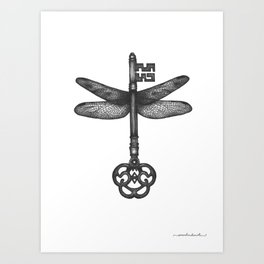 Dragonfly Key Art Print