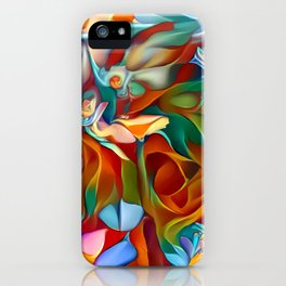 Psychedelic Daises iPhone Case
