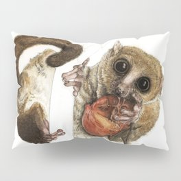 Munching Mouse Lemur Pillow Sham