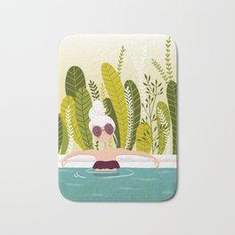 La piscine Bath Mat