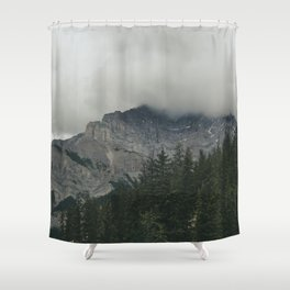 Road to Banff Shower Curtain