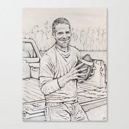 Brett Favre Canvas Print