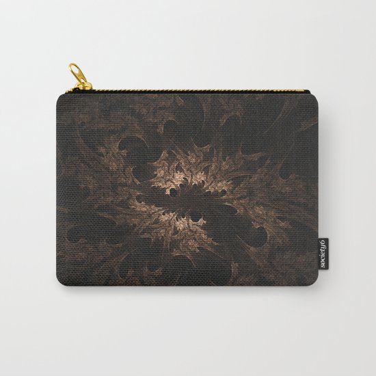 Abstract Fractal Design - Vintage Look Carry-All Pouch