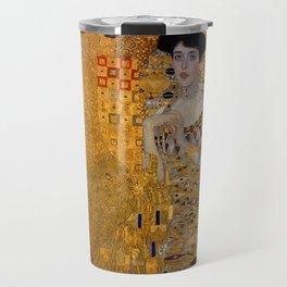 The Woman In Gold Bloch-Bauer I by Gustav Klimt Travel Mug