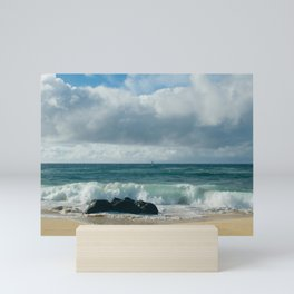 Hookipa Beach Pacific Ocean Waves Maui Hawaii Mini Art Print