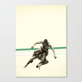 The Wrestler Canvas Print