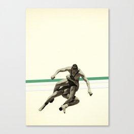 The Wrestler Canvas Print