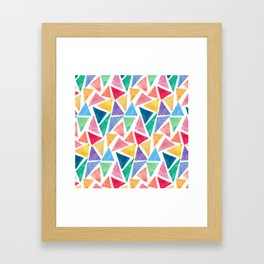 The art of many pieces Framed Art Print