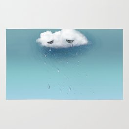 crying cloud Rug