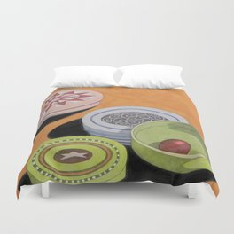 Small bowls n. 4 Duvet Cover