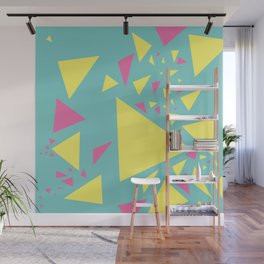 Triangles Wall Mural