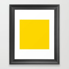 (Gold) Framed Art Print