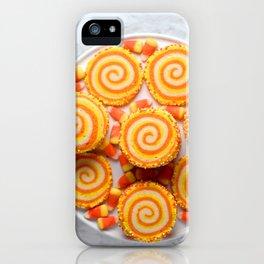 Halloween Candy Corn Cookies iPhone Case