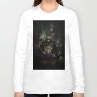 samurai Long Sleeve T-shirts featuring Samurai by TSV89