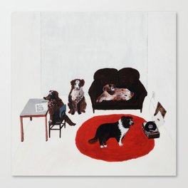 Damn Dogs Canvas Print