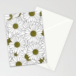 Daisy Yellow Stationery Cards