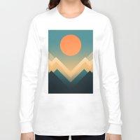 sun Long Sleeve T-shirts featuring Inca by Picomodi