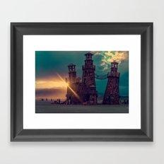 The Lighthouse Too Framed Art Print