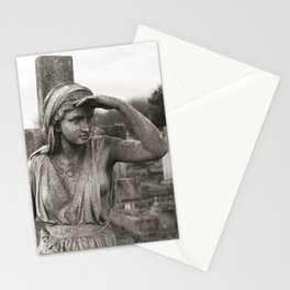 THE WATCHER | Kensal Green Cemetery 01  Stationery Cards
