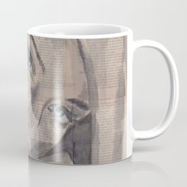 "Ink Painting ""Nelle"" Coffee Mug"