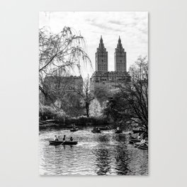 New York City Central Park Canvas Print
