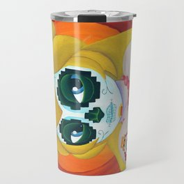 Day of the Digital Dead Princess Peach Travel Mug