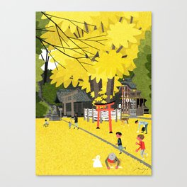 Kizuki Shrine Canvas Print