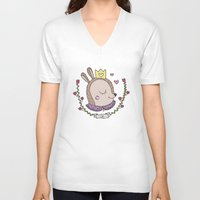 bambi V-neck T-shirts featuring Bambi by Line B.