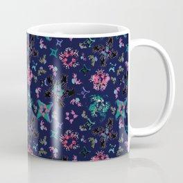 Exploding Stars and Flowers Coffee Mug