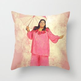 Cass Elliot, Music Legend Throw Pillow
