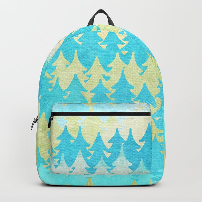 The secret forest -on a wonderful day - Abstract tree pattern Backpack