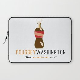 Poussey (White) | Nein | OITNB Laptop Sleeve