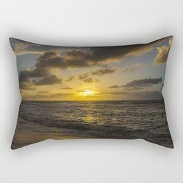 Golden Sunrise by Teresa Thompson Rectangular Pillow