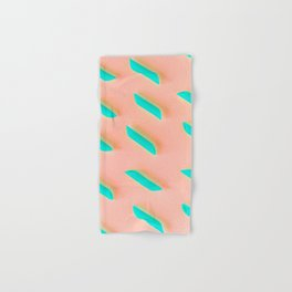 Neon Abstract Pasta Noodles Pattern (Color) Hand & Bath Towel