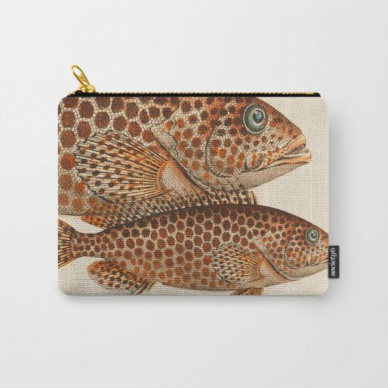 Fish Classic Designs 6 Carry-All Pouch